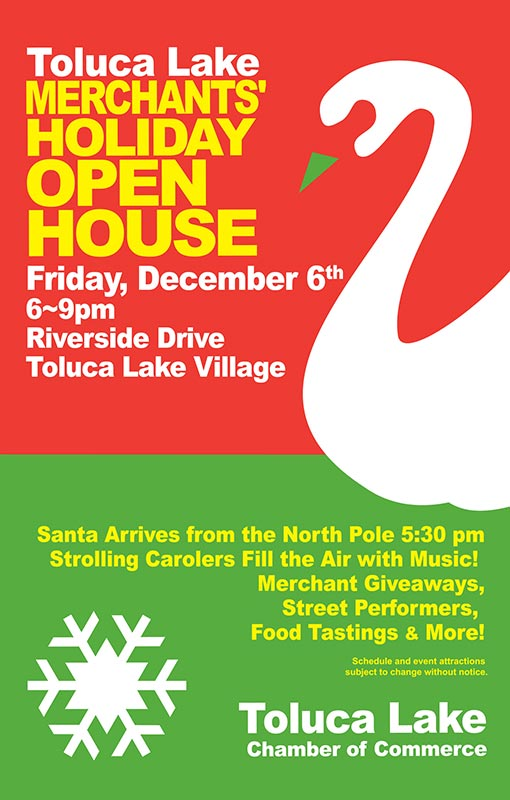 Toluca Lake Holiday Open House 2013